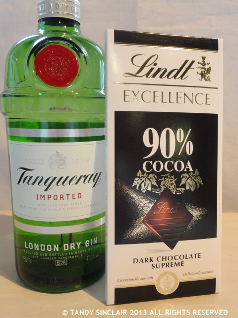 chocolate and gin! In My Kitchen August 2013
