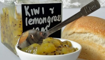 Kiwi And Lemongrass Jam