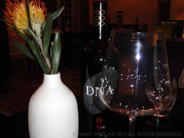 Wine Glass at Camphors At Vergelegen