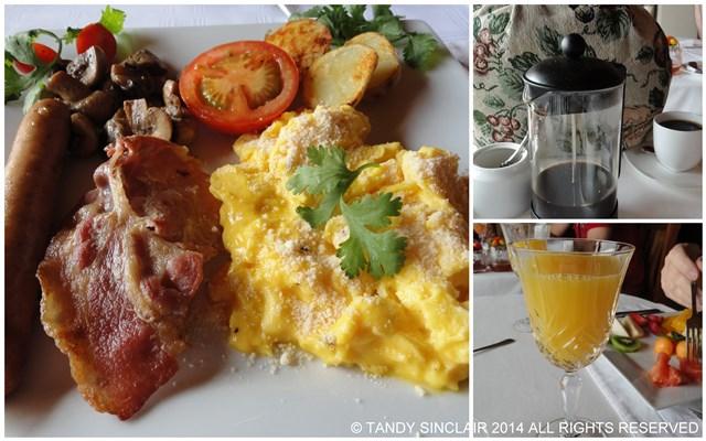 Aqua Marina Guest House Breakfast