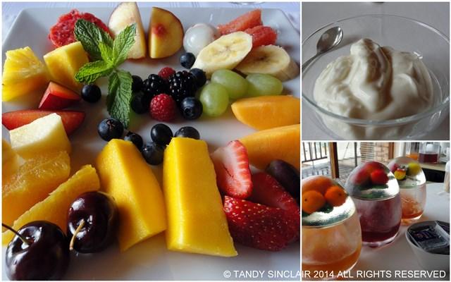 Aqua Marina Guest House Fruit Platter