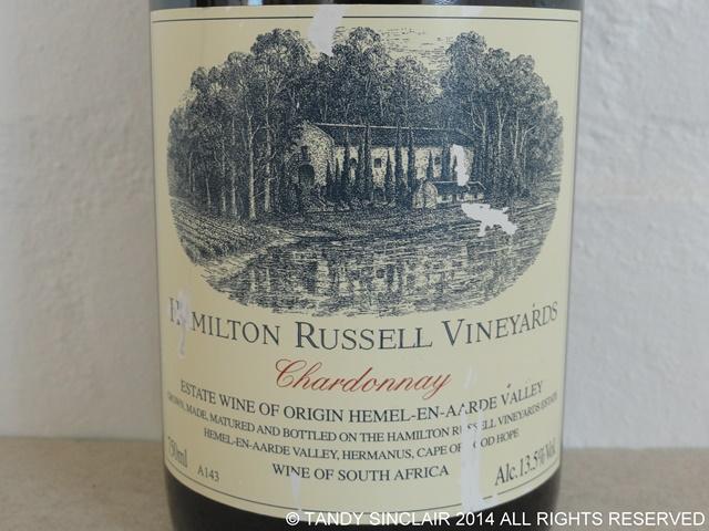 Hamilton Russell Chardonnay May 2014