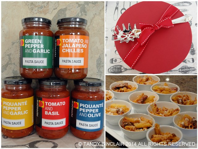 Peppadew Pasta Sauce Launch Out And About: Friday 30 May 2014