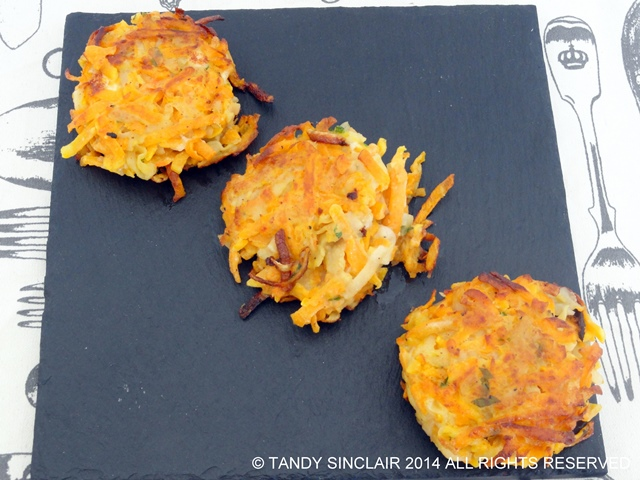 Potato And Butternut Latkes