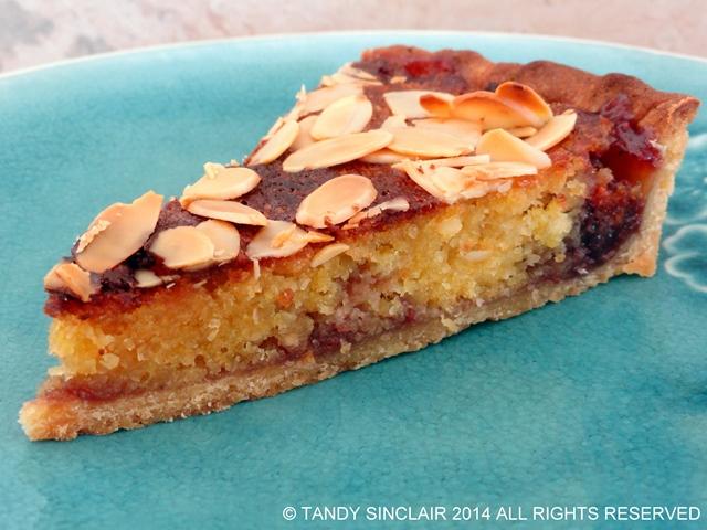 A Slice Of Bakewell Tart