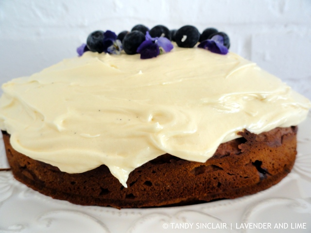 """Blueberry Cake"""