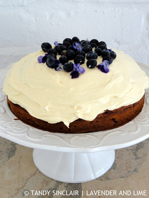Hard To Resist This Blueberry Cake