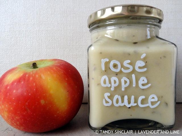 Rosé Apple Sauce