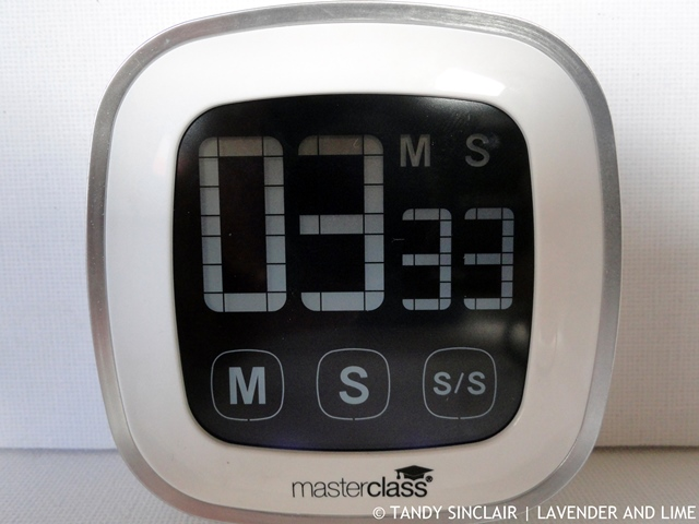 Masterclass Touch Screen Timer In My Kitchen December 2015