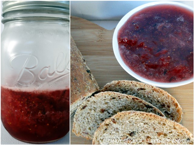 Strawberry And Lavender Jam For Friday's Food Quiz Number 77