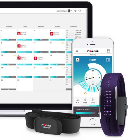 Polar Loop App and HR Monitor