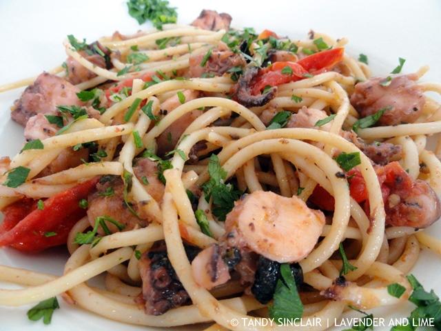 Octopus Spaghetti