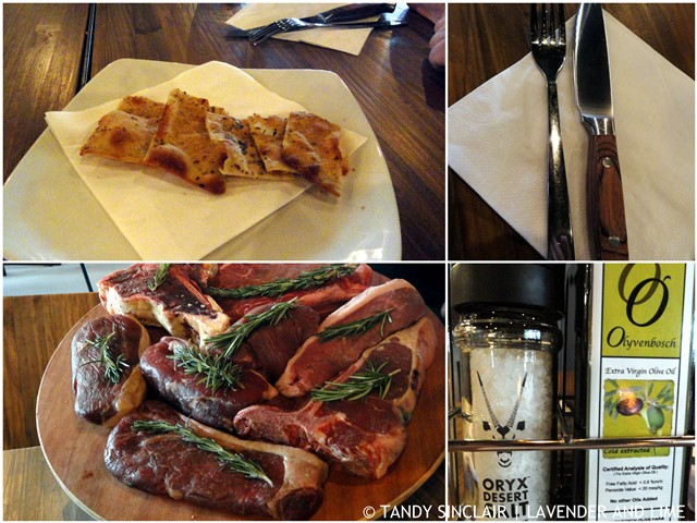 Bread and Choice of Meat at Milhaus