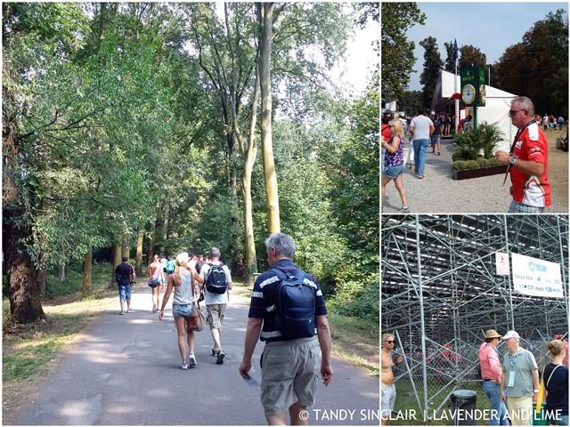 The Long Walk To The Monza Formula 1 Race