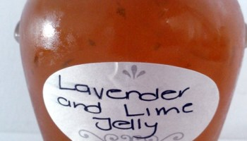 Lavender And Lime Jelly