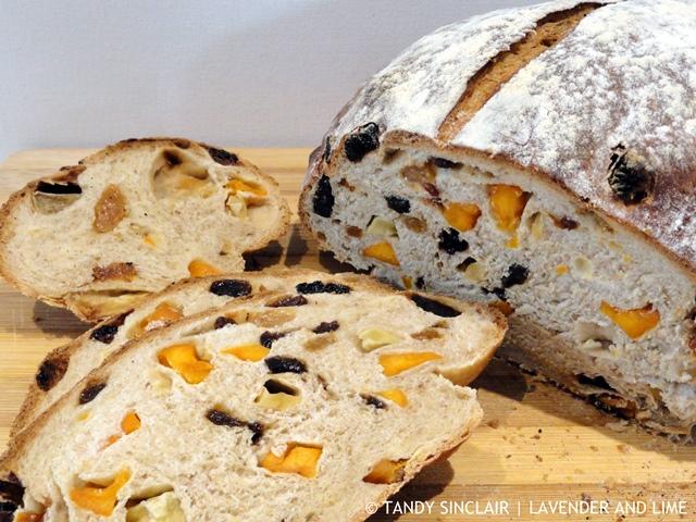 Dried Fruit Loaf