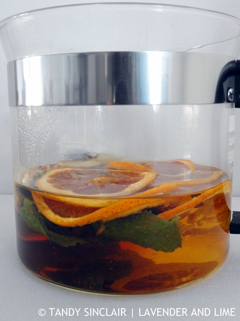 Grapefruit Tea
