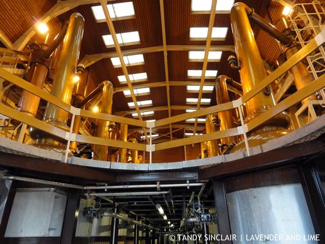 The Copper Stills At Glenmorangie Distillery