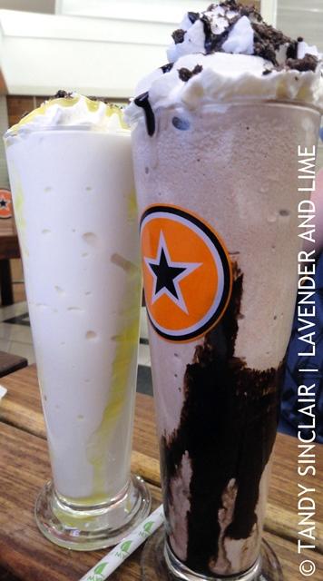 Milkshakes At RocoMamas
