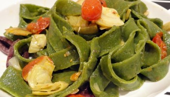 Egg Free Pasta With A Vegetable Pasta Sauce