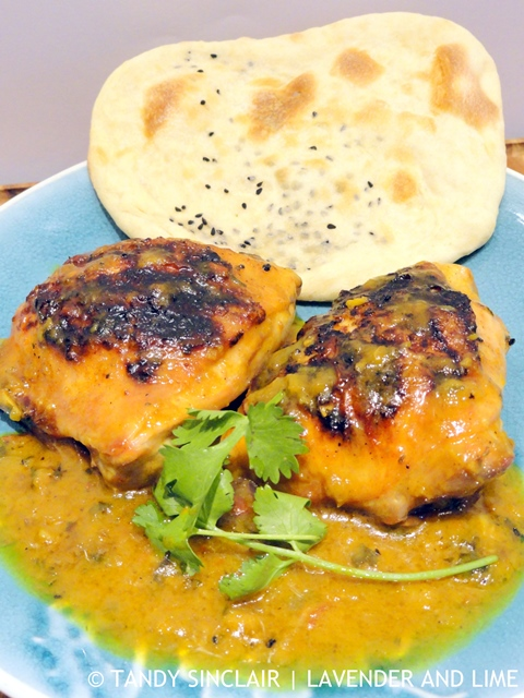 Coconut Chicken Curry And Naan