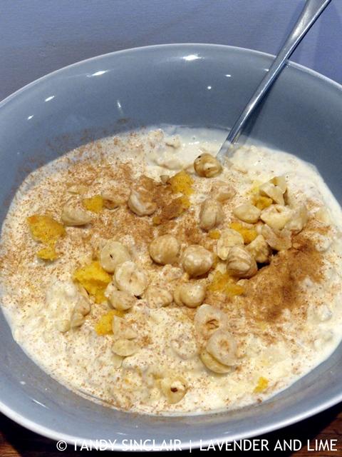 Strained Yoghurt Bircher With Orange Purée