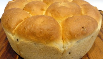 Caraway Seed Tear And Share Bread
