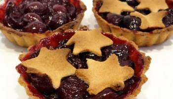 Cherry Compote Tarts February 2020