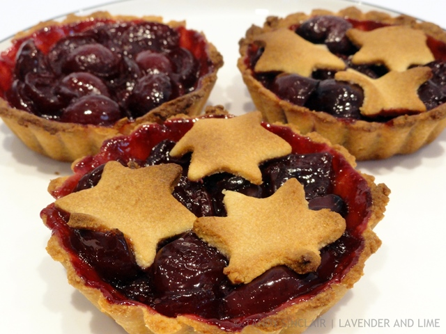 Cherry Compote Tarts