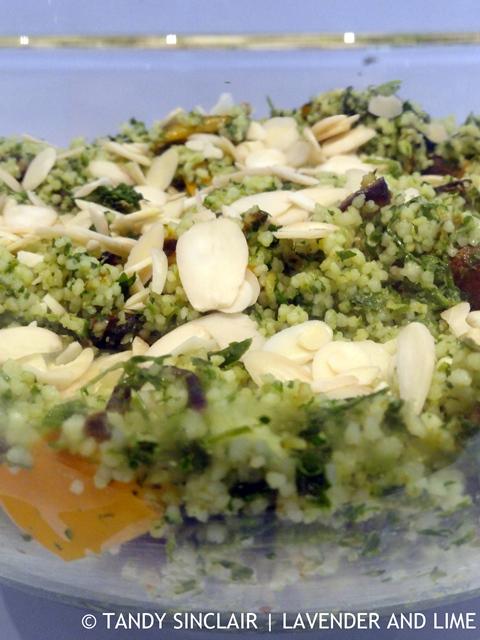 Salsa Verde Couscous