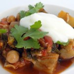 Aubergine And Chickpea Ragout