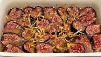 Baked Masala Figs