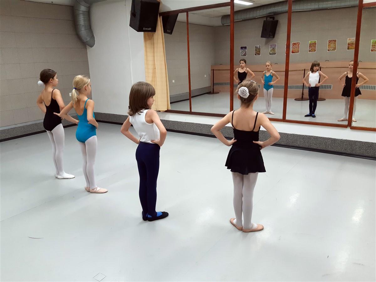 Taneční škola Jany Tomanové Praha - baletní sál