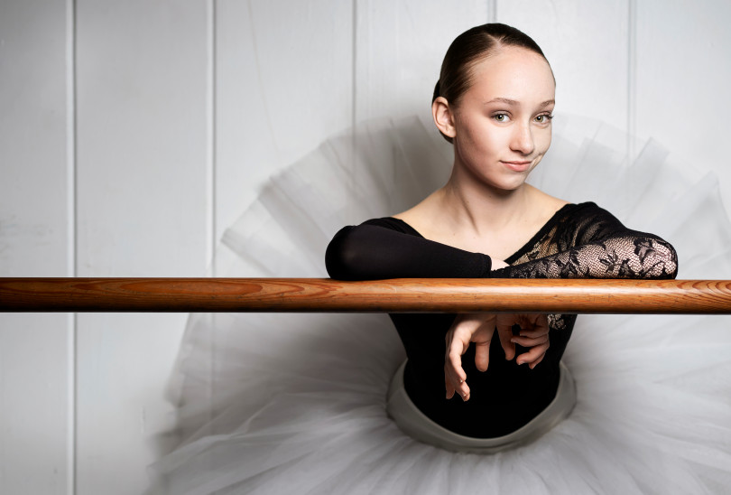 studentka Akademie Princesse Grace