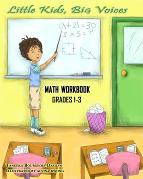 Little Kids, Big Voices Math Workbook, Grades 1-3
