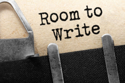Advice for Writers: Find a Quiet Room to Write