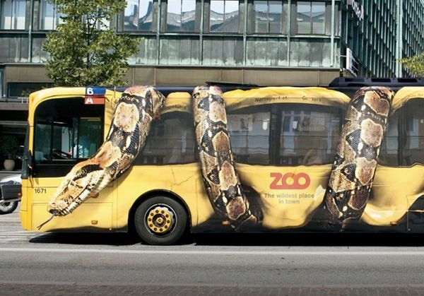 autobus marketing guerrilla