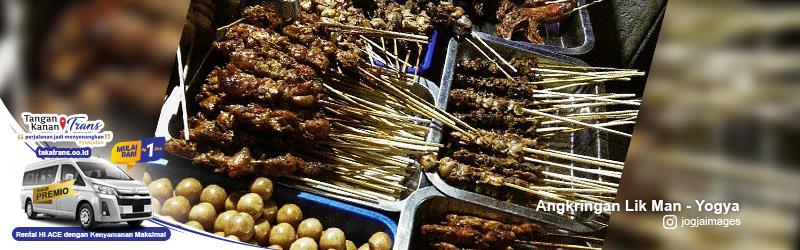 Sewa Hiace Jakarta ke kuliner malam Yogya