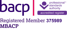 My personalised BACP registration logo