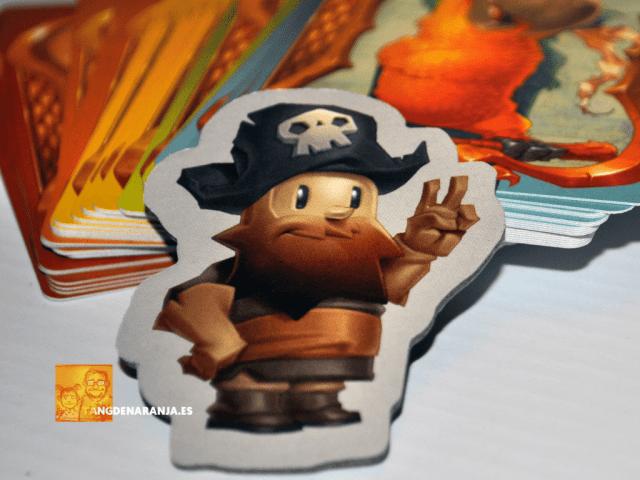Piratas al agua - favor del capitán