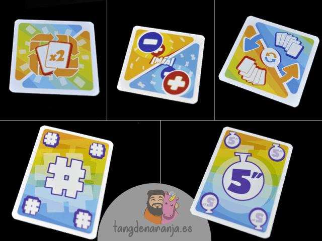 reseña mia matematicas juego de mesa tranjis cartas especiales