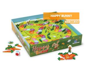 Happy Bunny juego de mesa infantil niños cooperativo conejito mercurio reseña