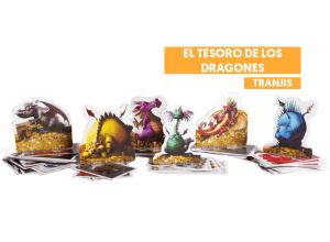 el tesoro de los dragones juego de mesa tranjis games