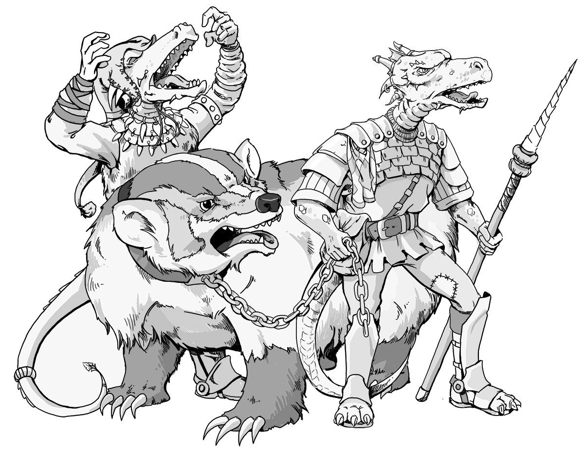Kobolds Galore 5e And Fate Core Tangent Artists Tabletop