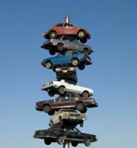 Berwyn car spindle