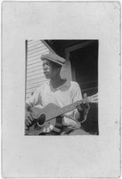 guitar black man