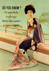 Jap national poster warning (english)