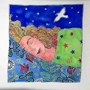 sleep-is-magic-painting21of50-BirthdayBold Art Project
