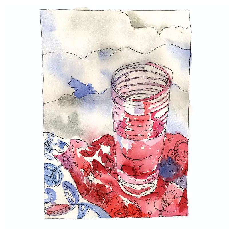 Half a glass of water_800