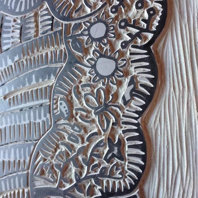 a-veritable-garden_wip_linoprint-carving3